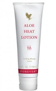 Aloe Heat Lotion Forever estompeaza durerile de oase